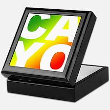 Cayo Ras Keepsake Box