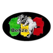 Belize Lion Decal