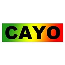 Cayo Ras Bumper Sticker