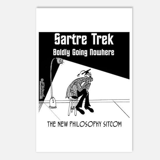 Sartre Trek Postcards (Package of 8)