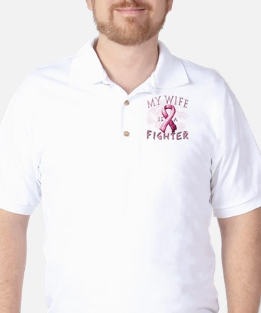 My Wife Is A Fighter Golf Shirt