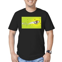 Mamet Flash Men's Fitted T-Shirt (dark)