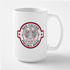 Red Falcon Polish Beer Large Mug
