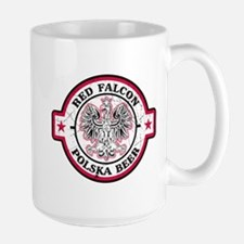 Red Falcon Polish Beer Mug