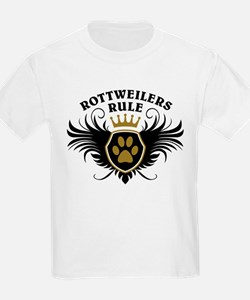 Rottweilers Rule T-Shirt