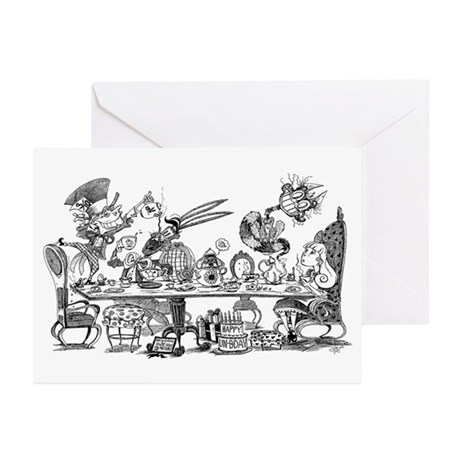 Alice's Unbirthday Party Greeting Cards (Pk of 10)