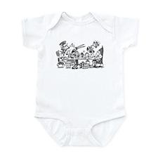 Alice's Unbirthday Party Infant Bodysuit