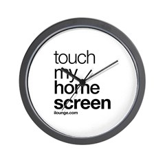 Touch My Home Screen Wall Clock