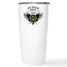 Pit Bulls Rule Travel Mug