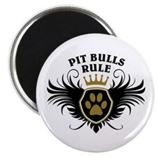 Pit Bulls Rule Magnet