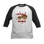 I'm The Little Brother - Monk Kids Baseball Jersey