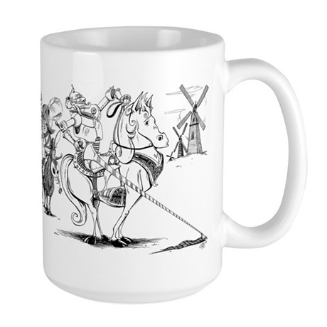 Don Quixote Large Mug