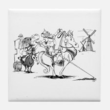 Don Quixote Tile Coaster