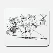 Don Quixote Mousepad