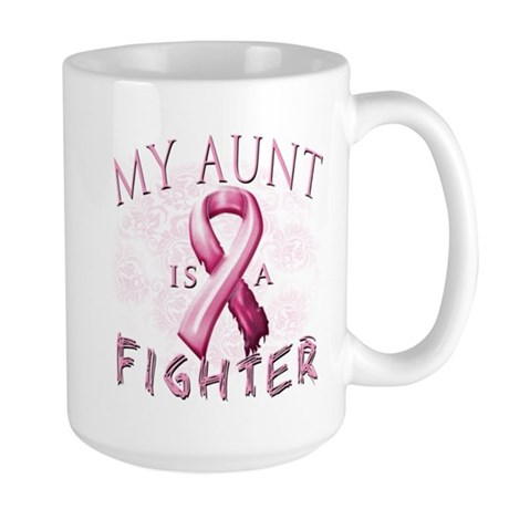 My Aunt Is A Fighter Large Mug