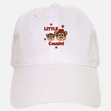 I'm The Little Cousin! Monkey Baseball Baseball Cap