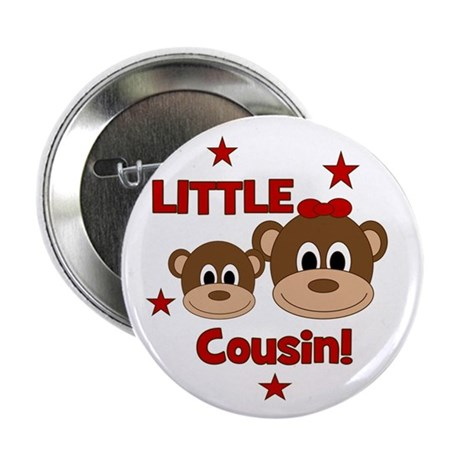 "I'm The Little Cousin! Monkey 2.25"" Button"