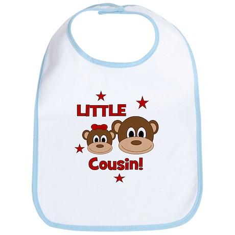 I'm The Little Cousin! Monkey Bib