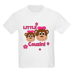 I'm The Little Cousin! Monkey T-Shirt