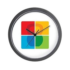 Kettlebell Pop Art Wall Clock