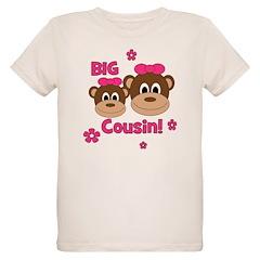 I'm The Big Cousin! Monkey T-Shirt
