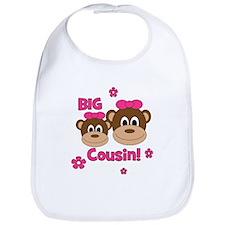 I'm The Big Cousin! Monkey Bib