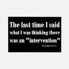 Intervention Rectangle Magnet