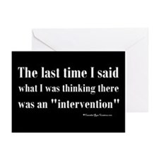 Intervention Greeting Cards (Pk of 10)