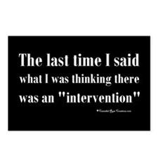 Intervention Postcards (Package of 8)