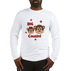 I'm The Big Cousin! Monkey Long Sleeve T-Shirt