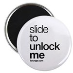 Slide to Unlock Me Magnet
