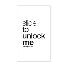 Slide to Unlock Me Decal