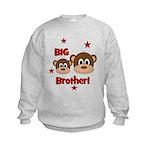 BIG Brother! Monkey Kids Sweatshirt