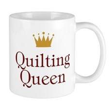 Quilting Queen Small Mug