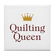 Quilting Queen Tile Coaster
