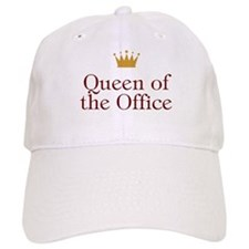 Queen Of The Office Baseball Baseball Cap
