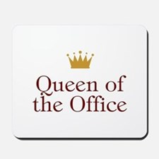 Queen Of The Office Mousepad