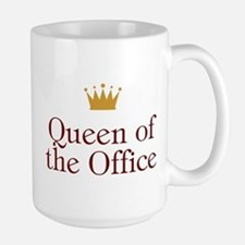Queen Of The Office Ceramic Mugs