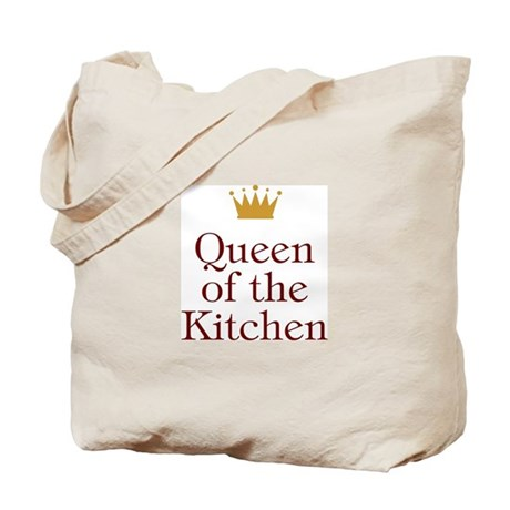 Queen of the Kitchen Tote Bag