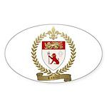 LOSIER Family Crest Sticker (Oval 50 pk)
