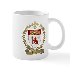 LOSIER Family Crest Mug