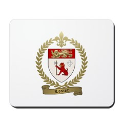 LOSIER Family Crest Mousepad