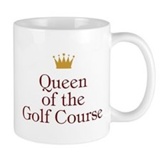 Queen Of Golf Course Small Mug
