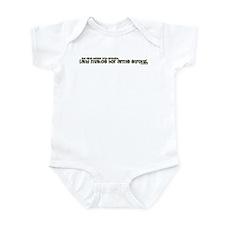 Parenthetical Proverbs Woman Infant Bodysuit