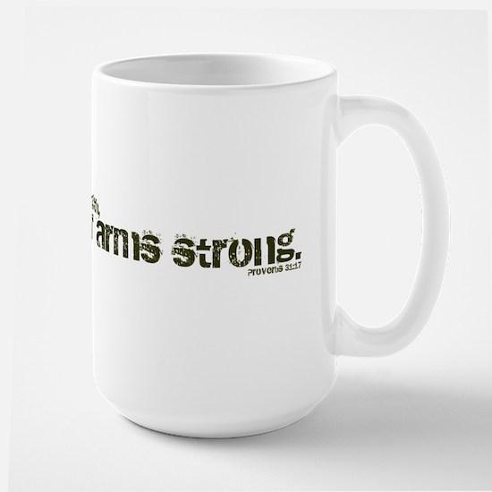 Parenthetical Proverbs Woman Large Mug