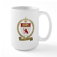 LOZIER Family Crest Large Mug