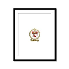 LOZIER Family Crest Framed Panel Print