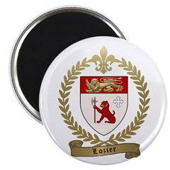 "LOZIER Family Crest 2.25"" Magnet (100 pack)"