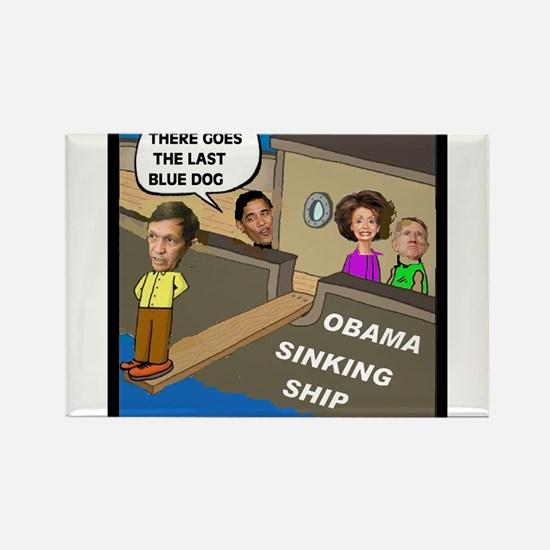 WALKING THE PLANK Rectangle Magnet (10 pack)