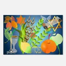 Passover Seder Postcards (Package of 8)
